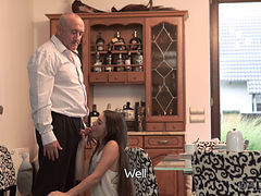 Daddy4k. An Abused Girlfriend Will Fuck With Your Father
