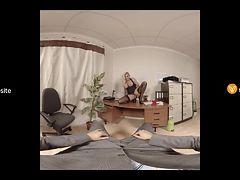 Michelle Thorne In Office Slut VR