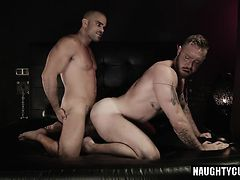 Hairy son domination and cumshot