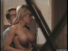 Super Busty Julia Kruis Gets Fucked On a Desk - Softcore Sex Scene