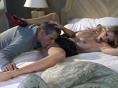 Well-experienced vixen jessica drake is on the way to orgasm with hard boner in her backdoor
