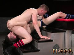 Gay kiss and fist porn ass fisting with feet pics Axel Abyss